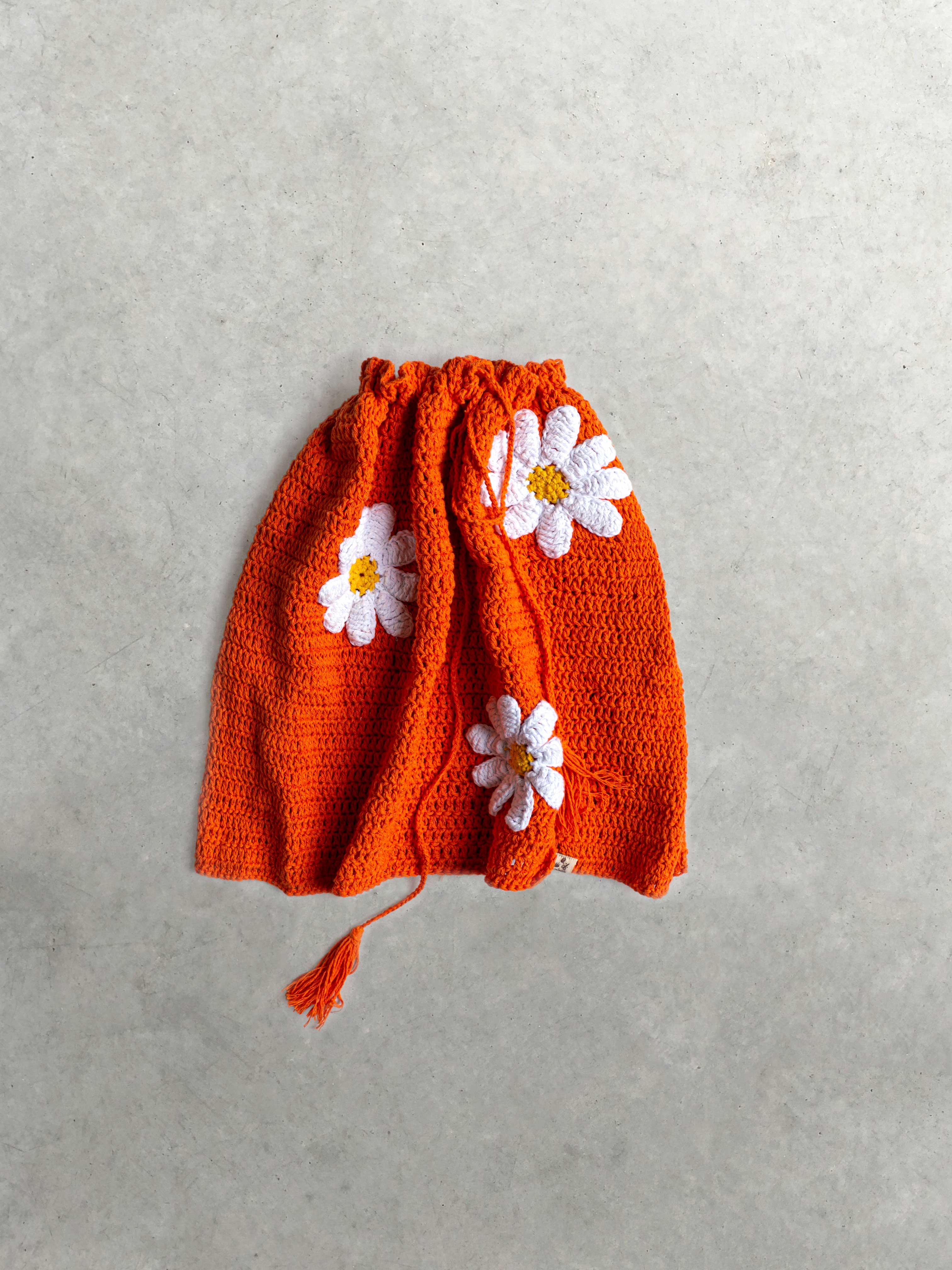 Packshot du produit Jupe crochet orange de la catégorie Jupes