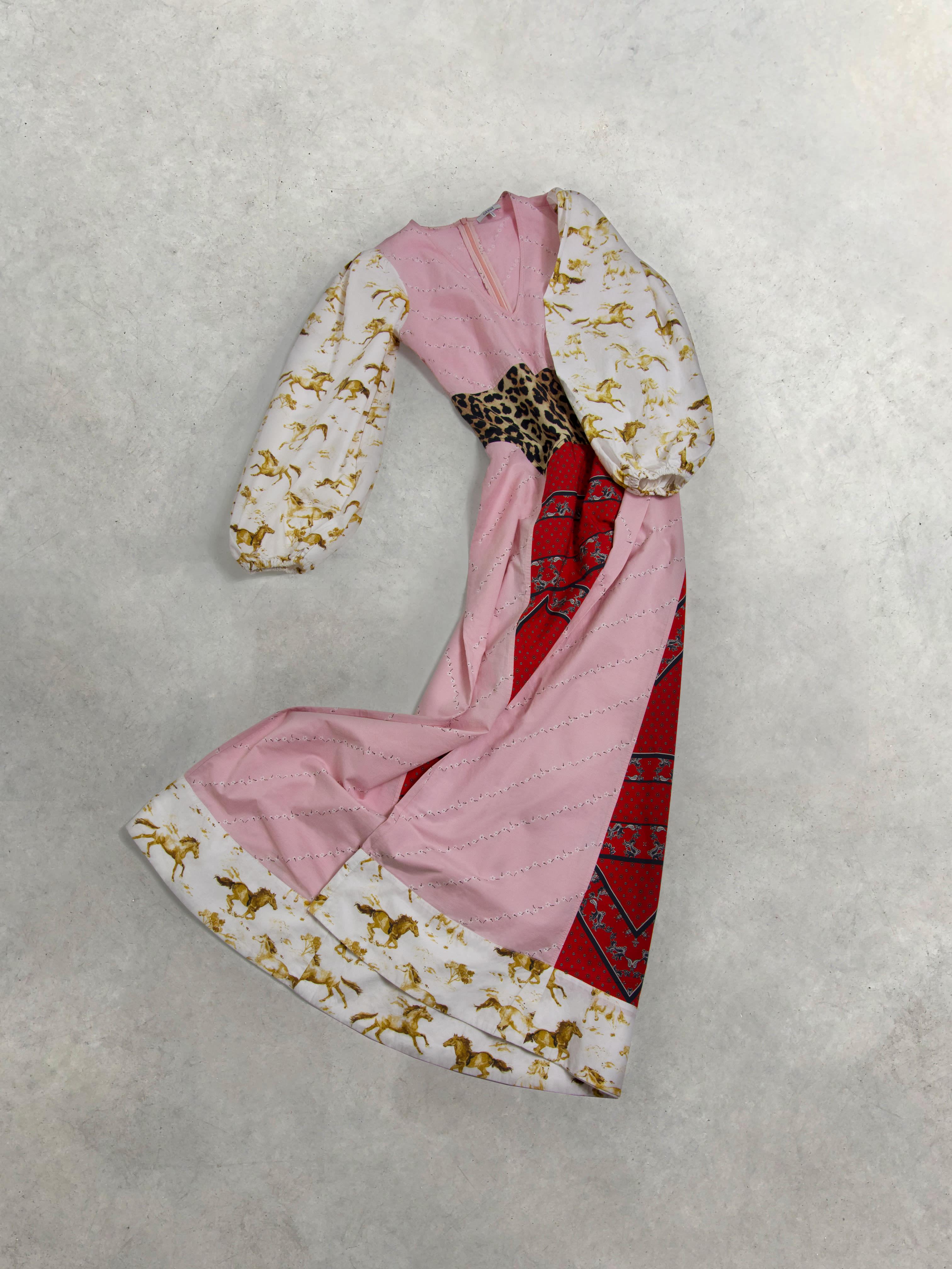 Packshot du produit Maxi Robe Patchwork Esmeralda de la catégorie Robes