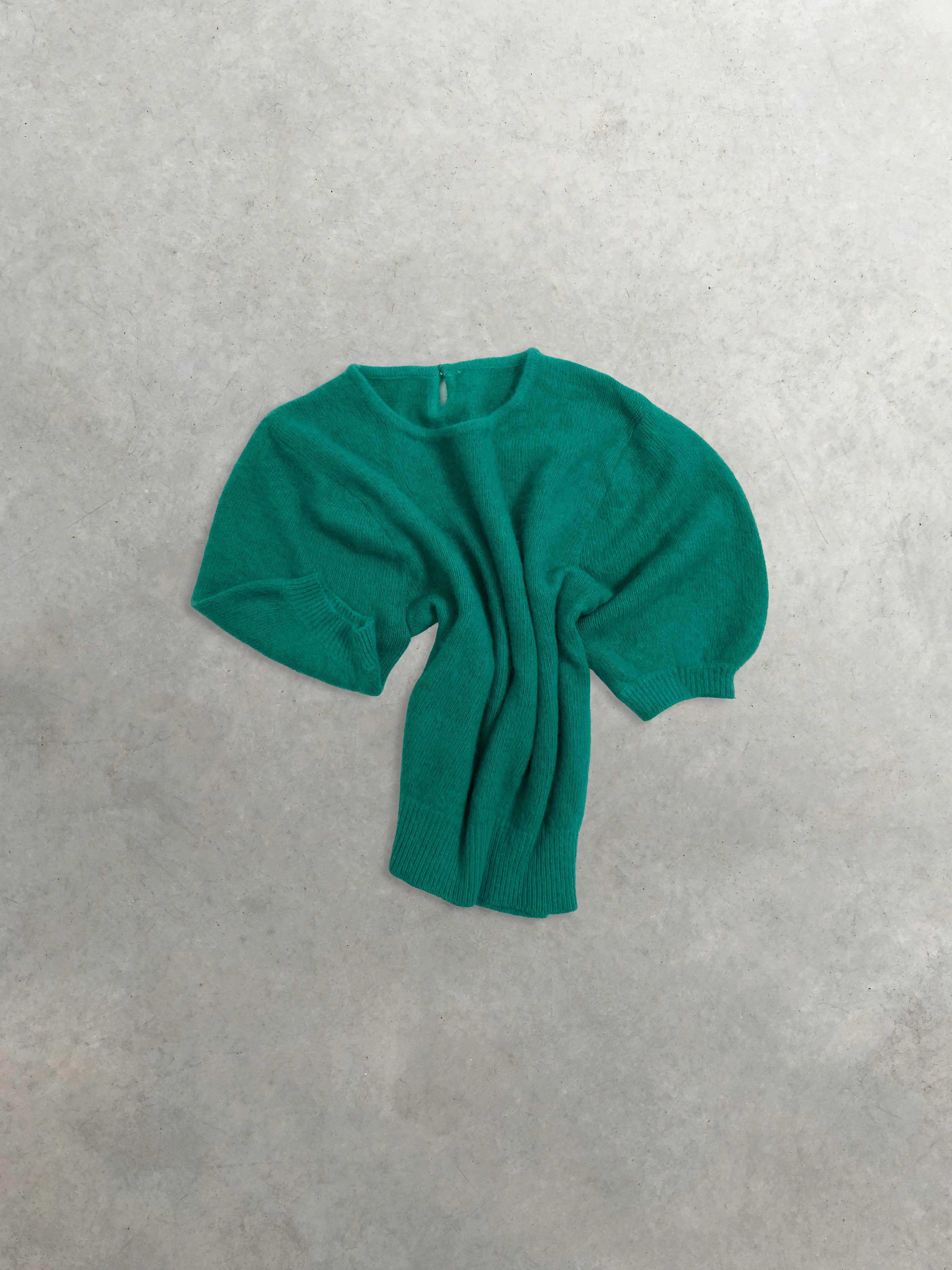 Packshot du produit Pull Col Rond Turquoise  de la catégorie Pull