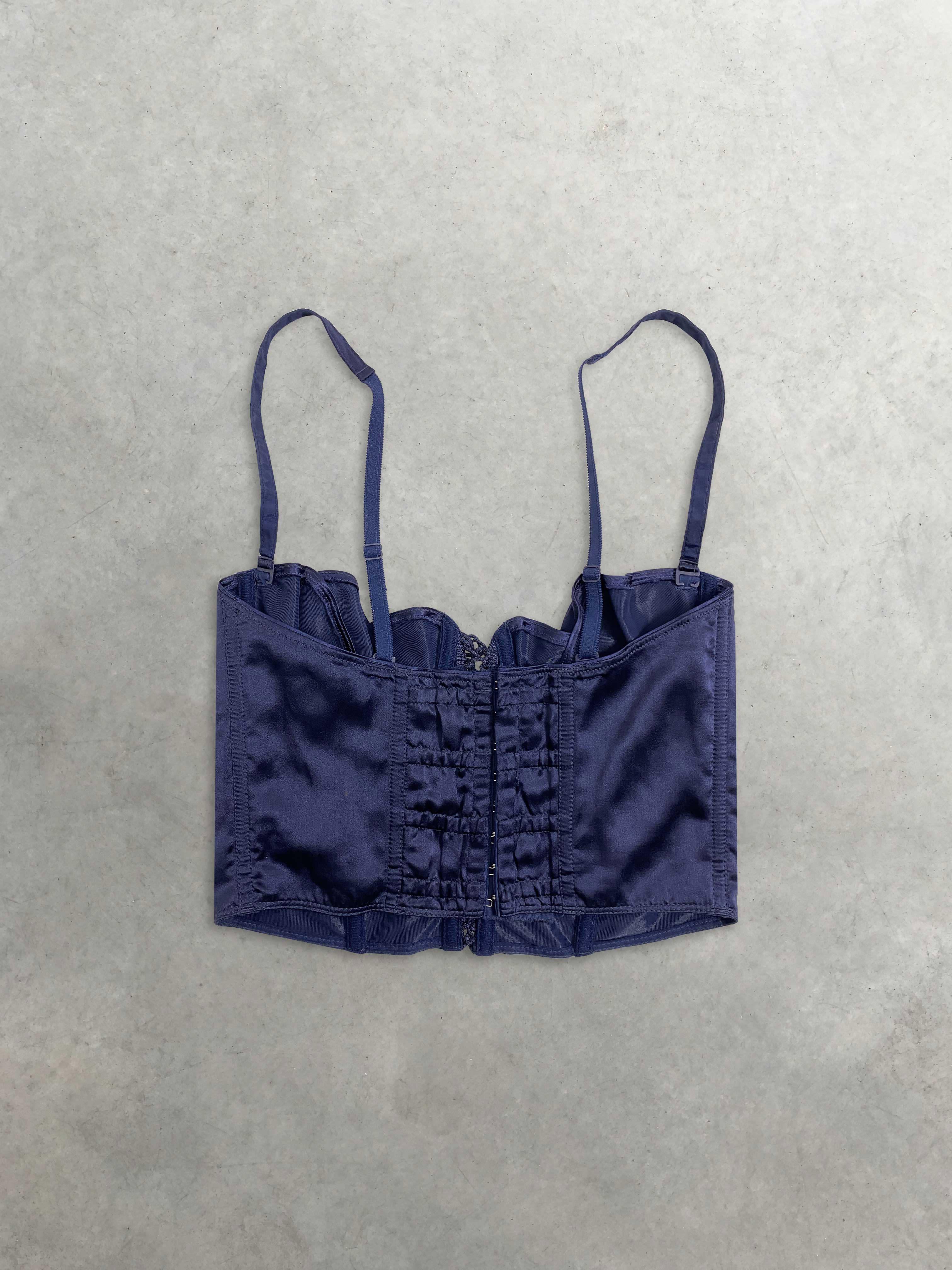 Packshot du produit Corset en Soie Lacé à Armatures de la catégorie Tops & Chemises