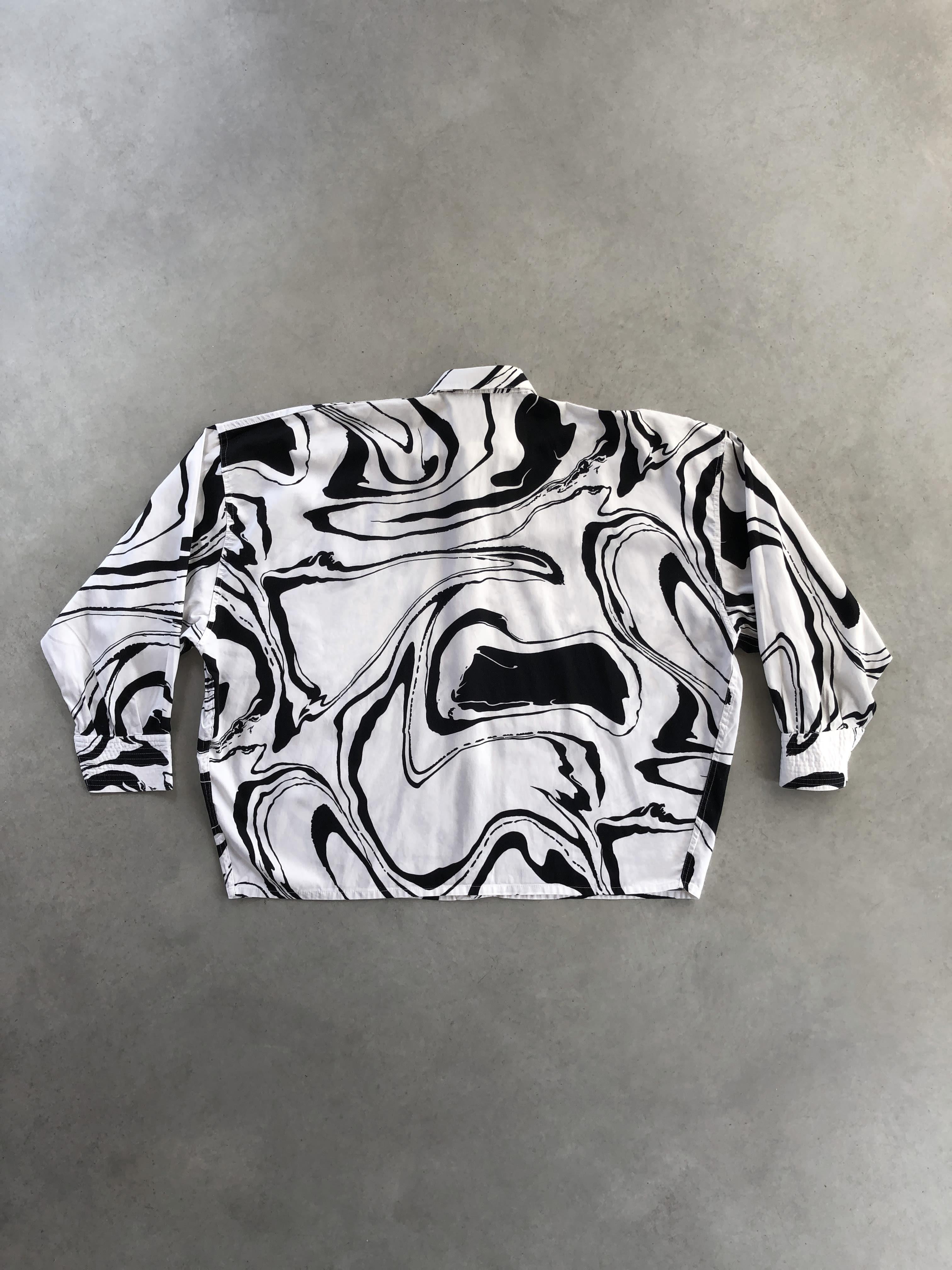 Packshot du produit Chemise vintage en coton imprimé de la catégorie Tops & Chemises