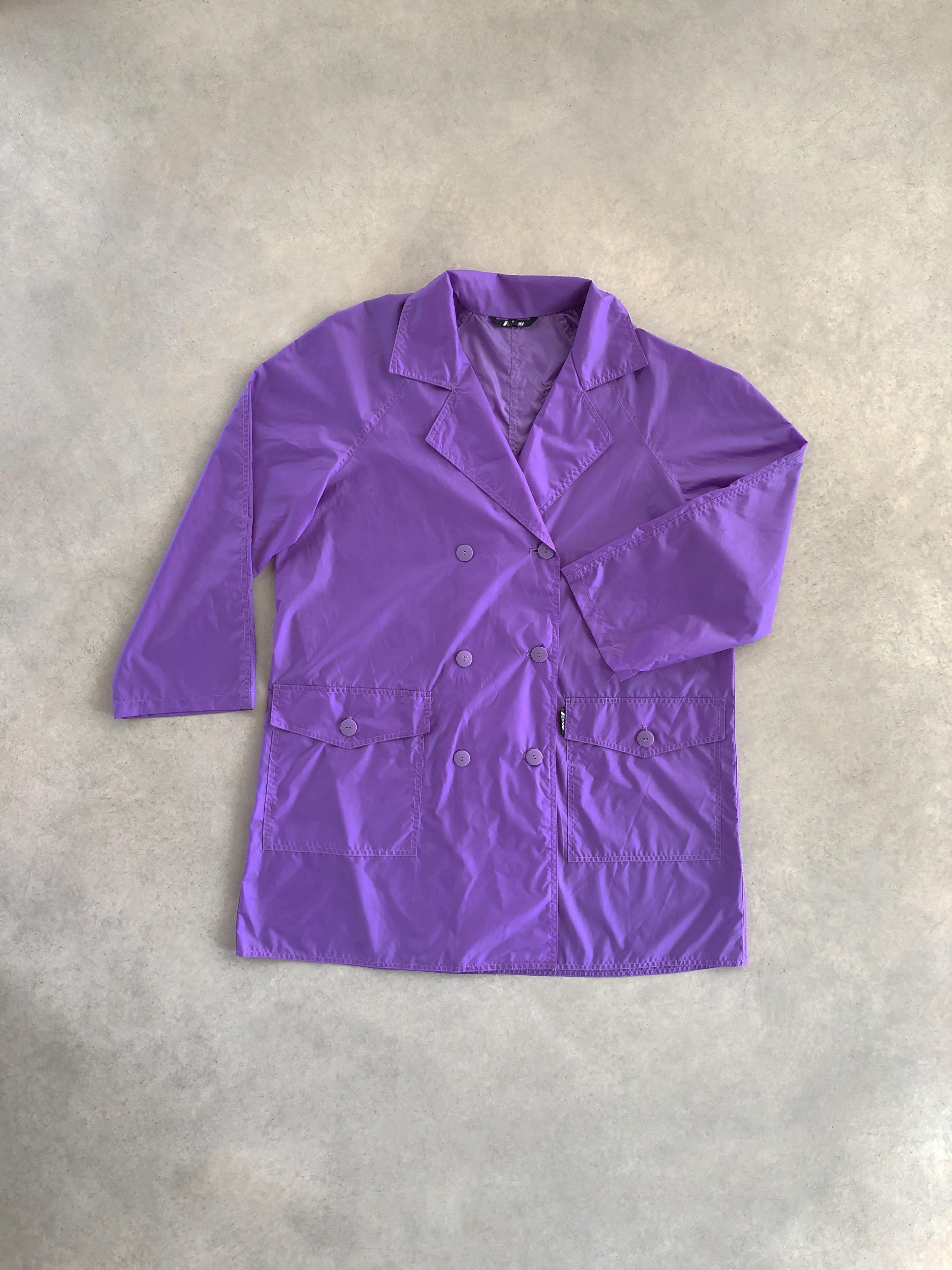 Packshot du produit K-way Violet à Col Tailleur de la catégorie Vestes & Manteaux