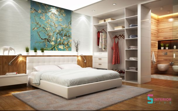 residential bedroom interior designers in mumbai