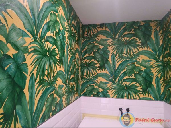 wallpaper fixing company in dubai