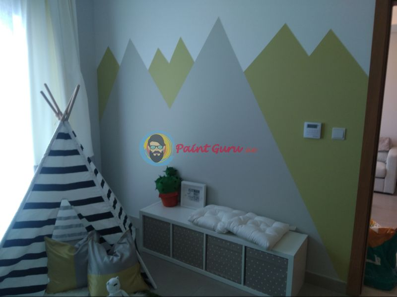 Kids Room Painting Dubai