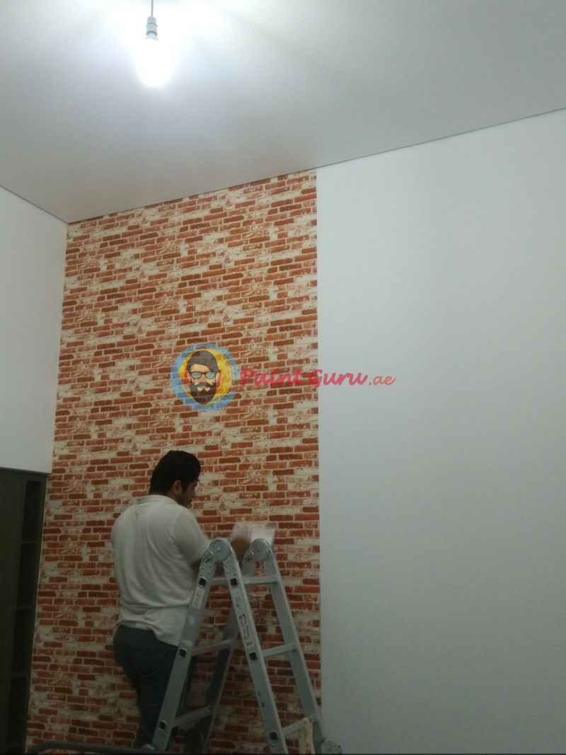 wallpaper installation dubai