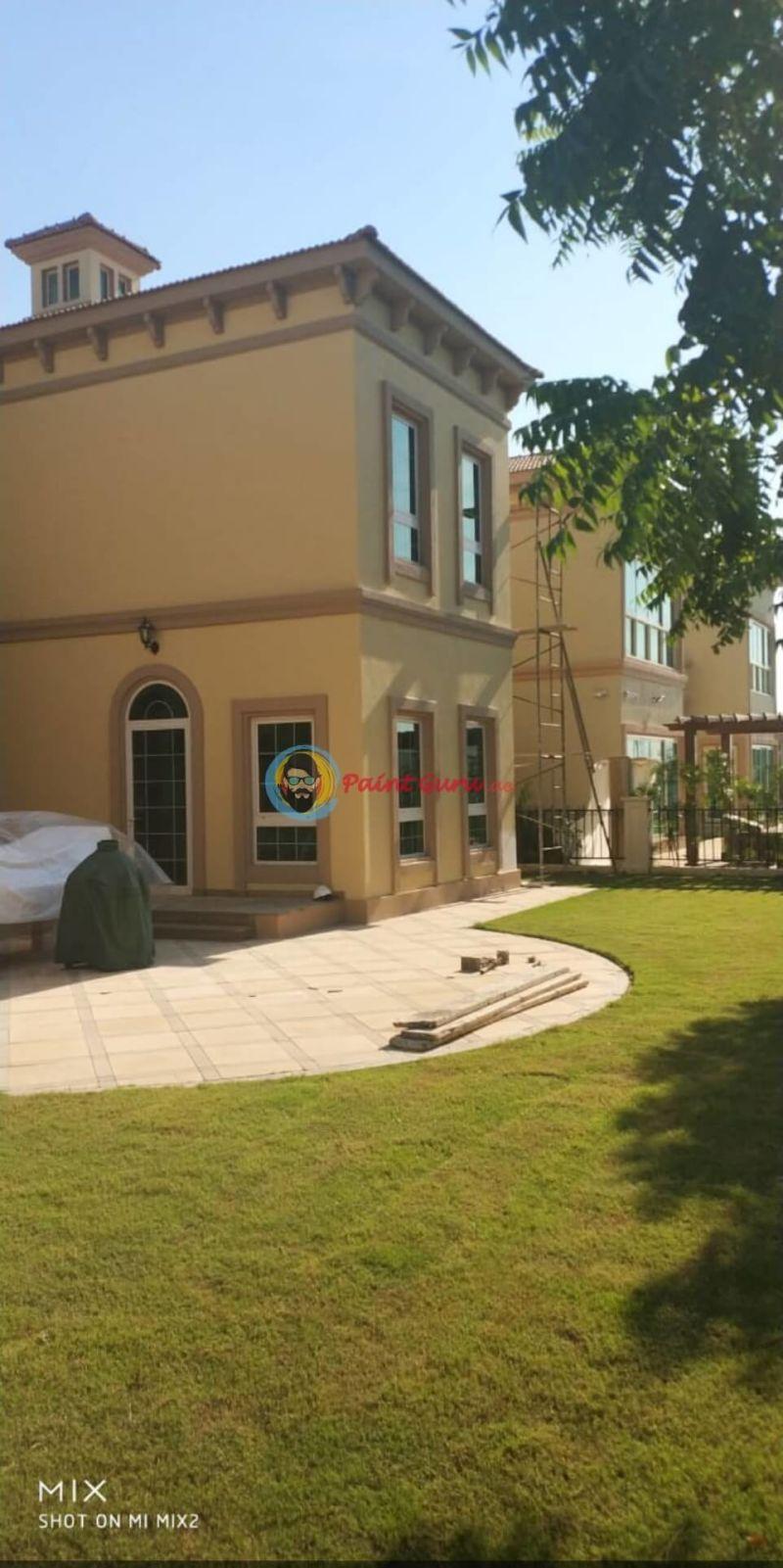 Exterior Villa Painters in Dubai