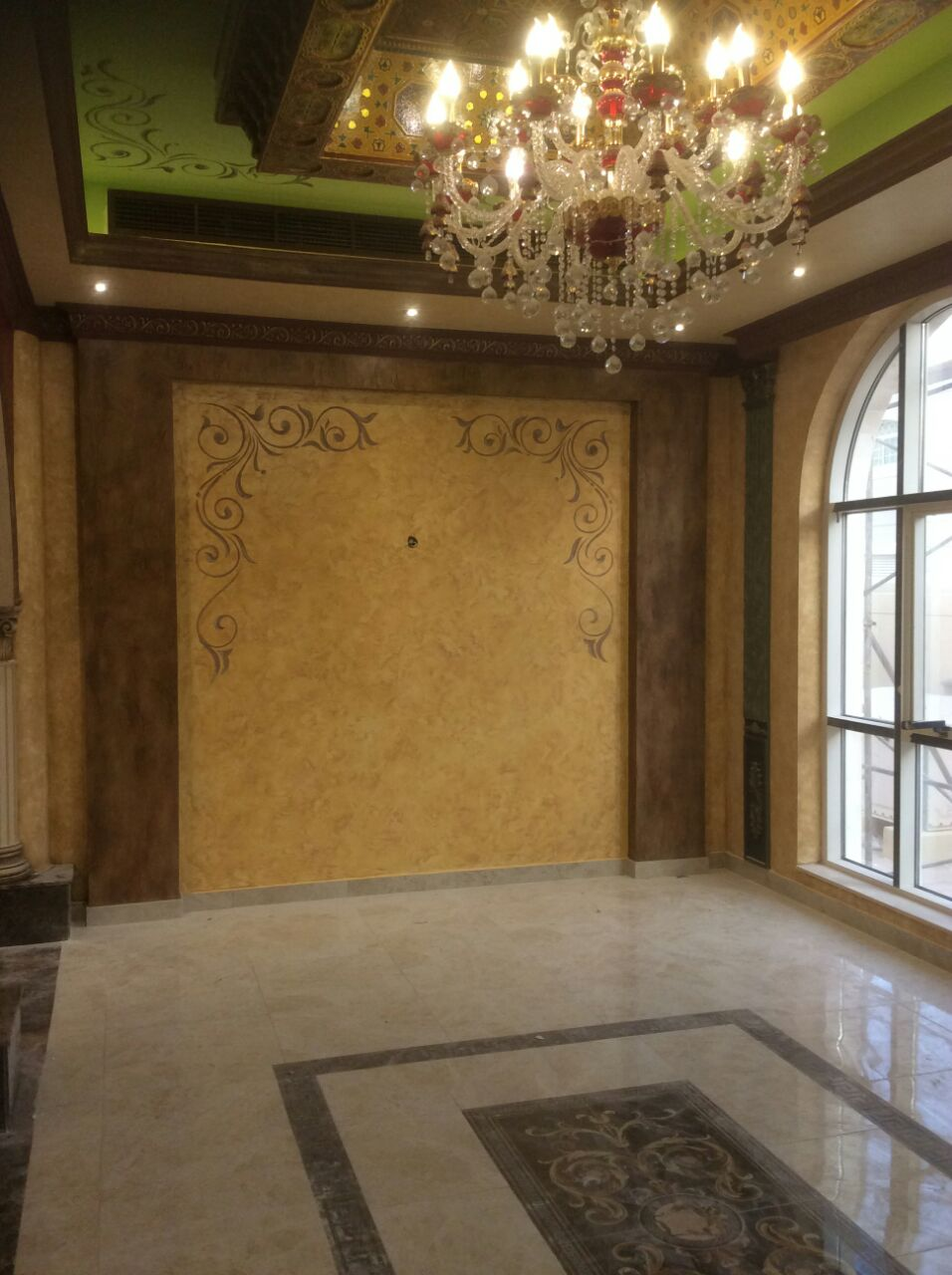 villa painting in Dubai