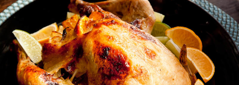 Ginger Citrus Roast Chicken