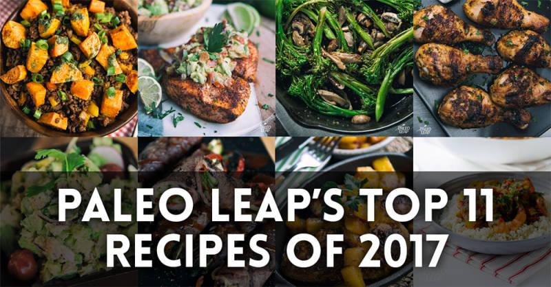 Top recipes of 2017