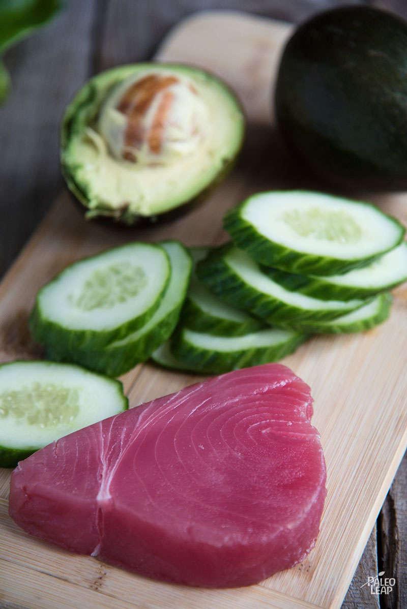 Tuna Bites preparation