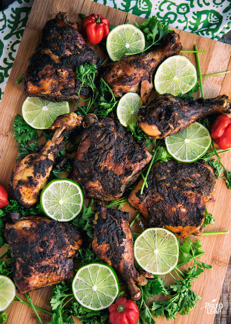 Slow-Cooked Jerk-Style Chicken