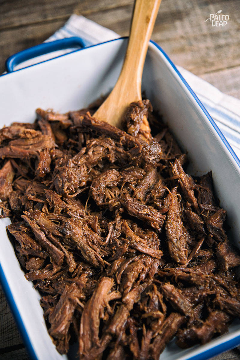 Slow Cooker Pulled-Beef