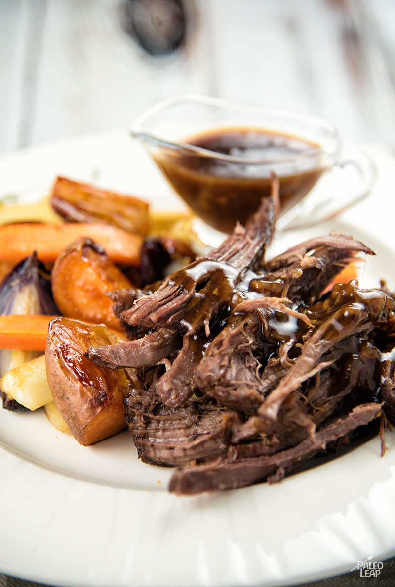 Maple Balsamic Braised Chuck Roast