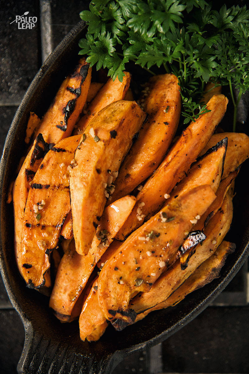 Grilled Zesty Sweet Potatoes