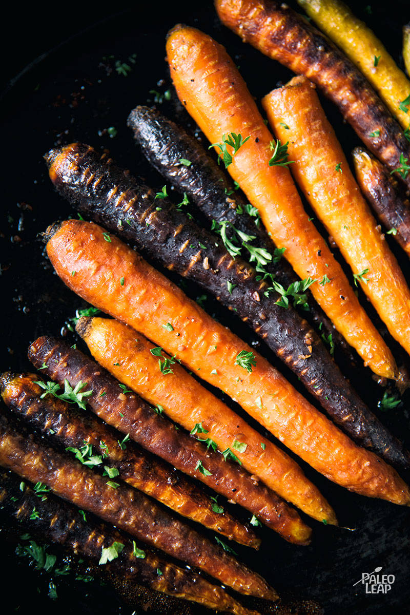 Balsamic Roasted Carrots Paleo Leap