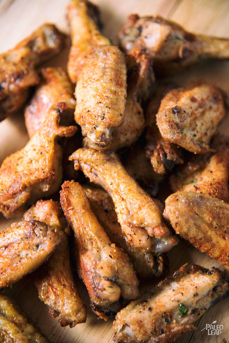 Chicken Wings preparation