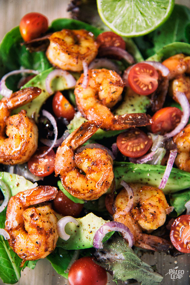 Taco Lime Shrimp Salad