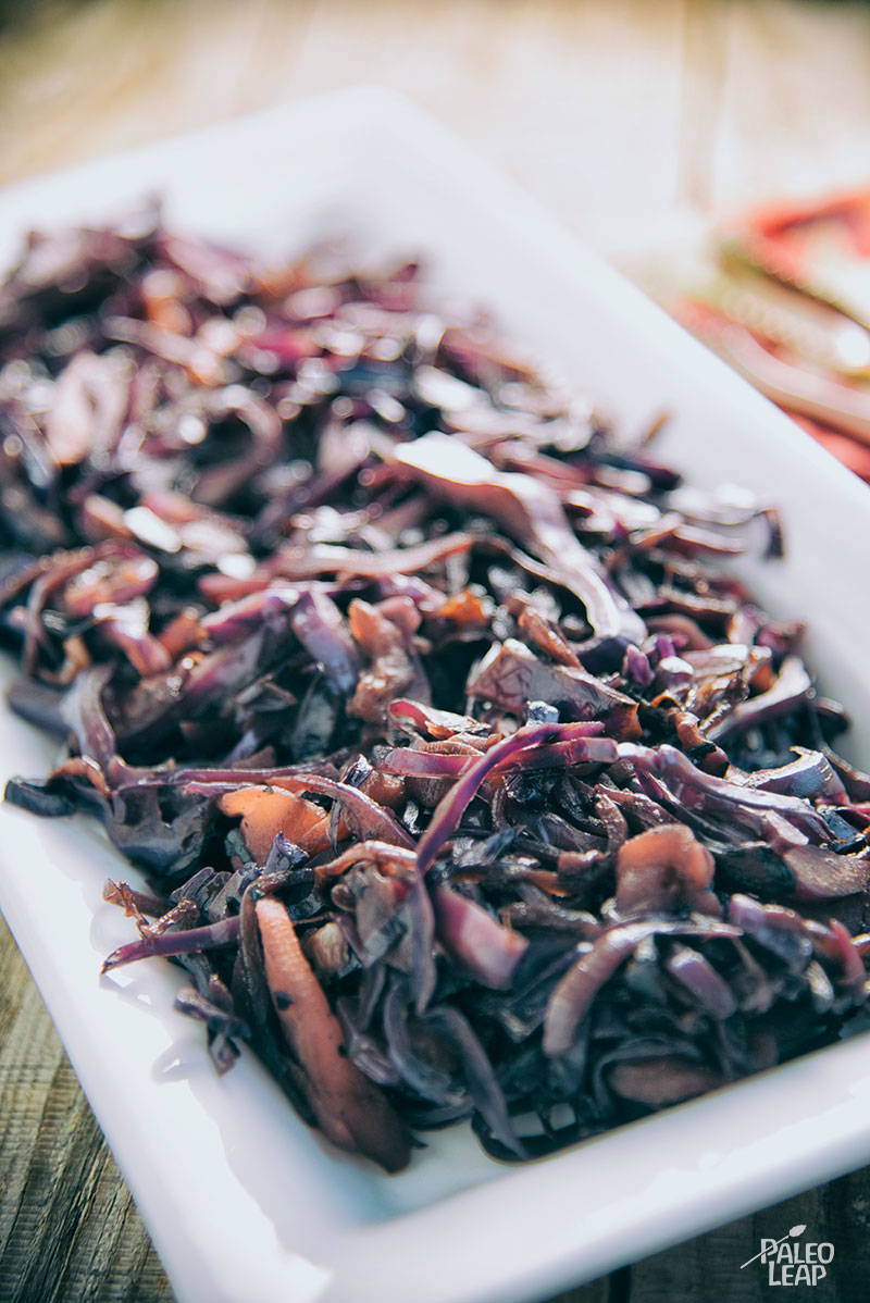 Star Anise And Cinnamon Red Cabbage Slaw Recipe