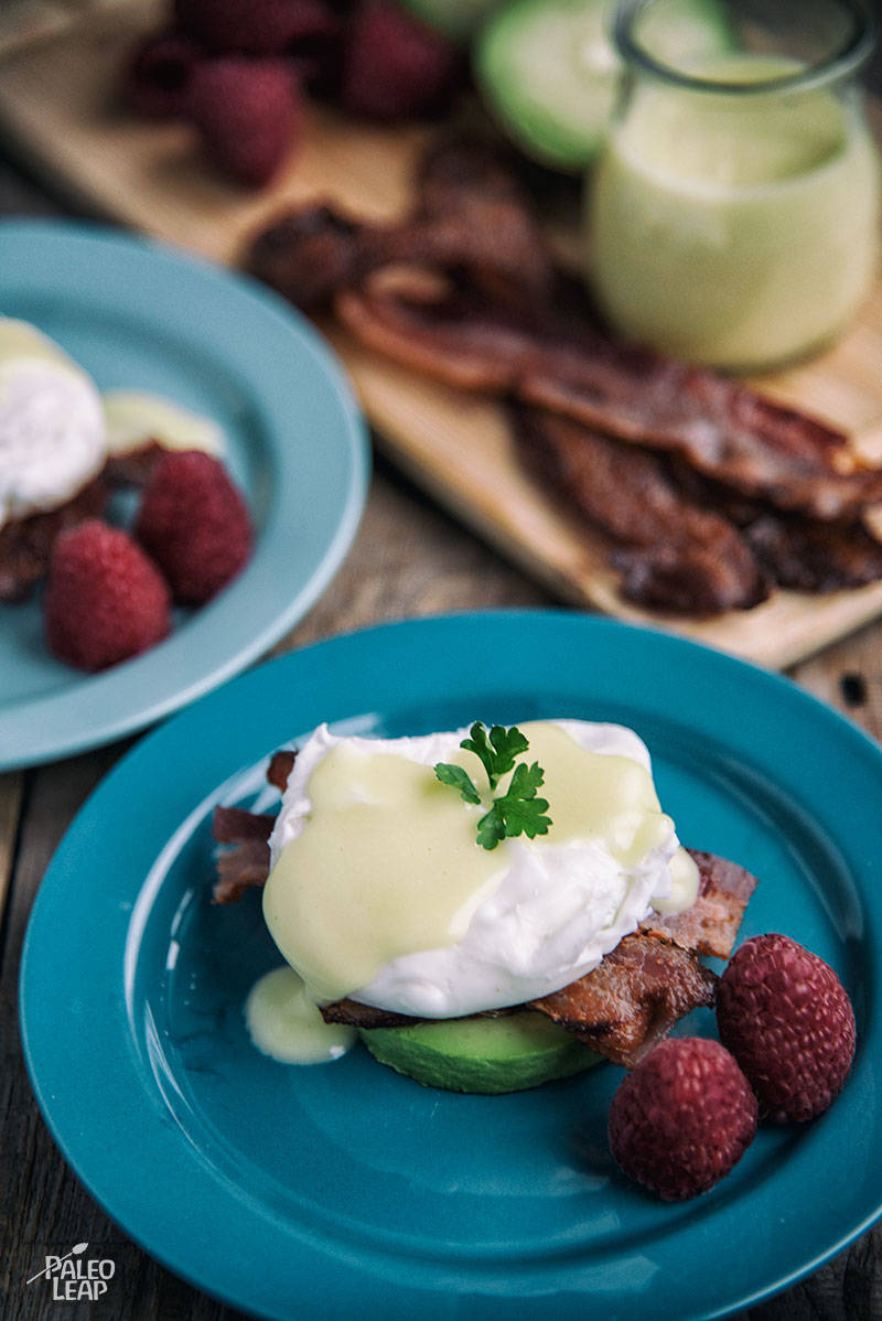 Eggs Benedict With Avocado And Bacon