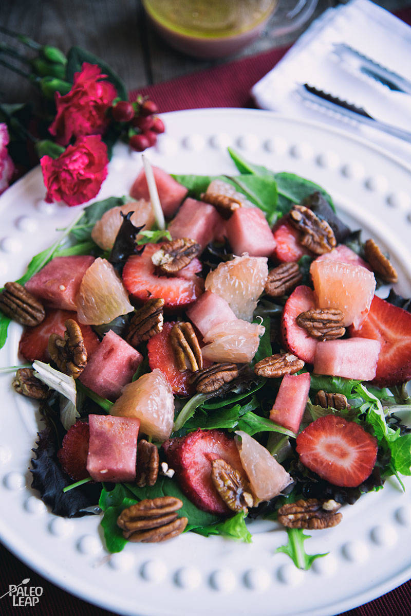 Grapefruit And Watermelon Salad Recipe