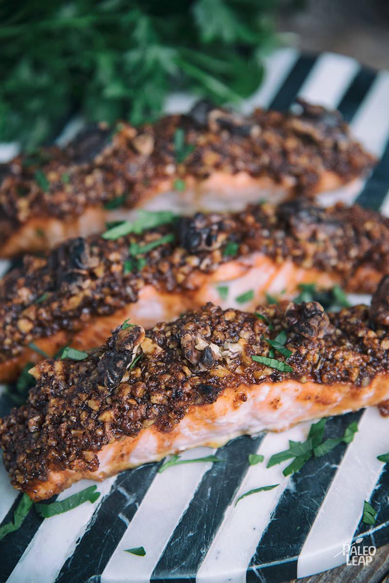 Maple-Crusted Salmon Recipe