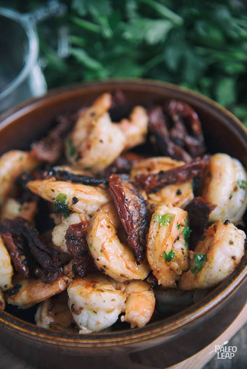 Spicy Shrimp And Sun-Dried Tomatoes Recipe