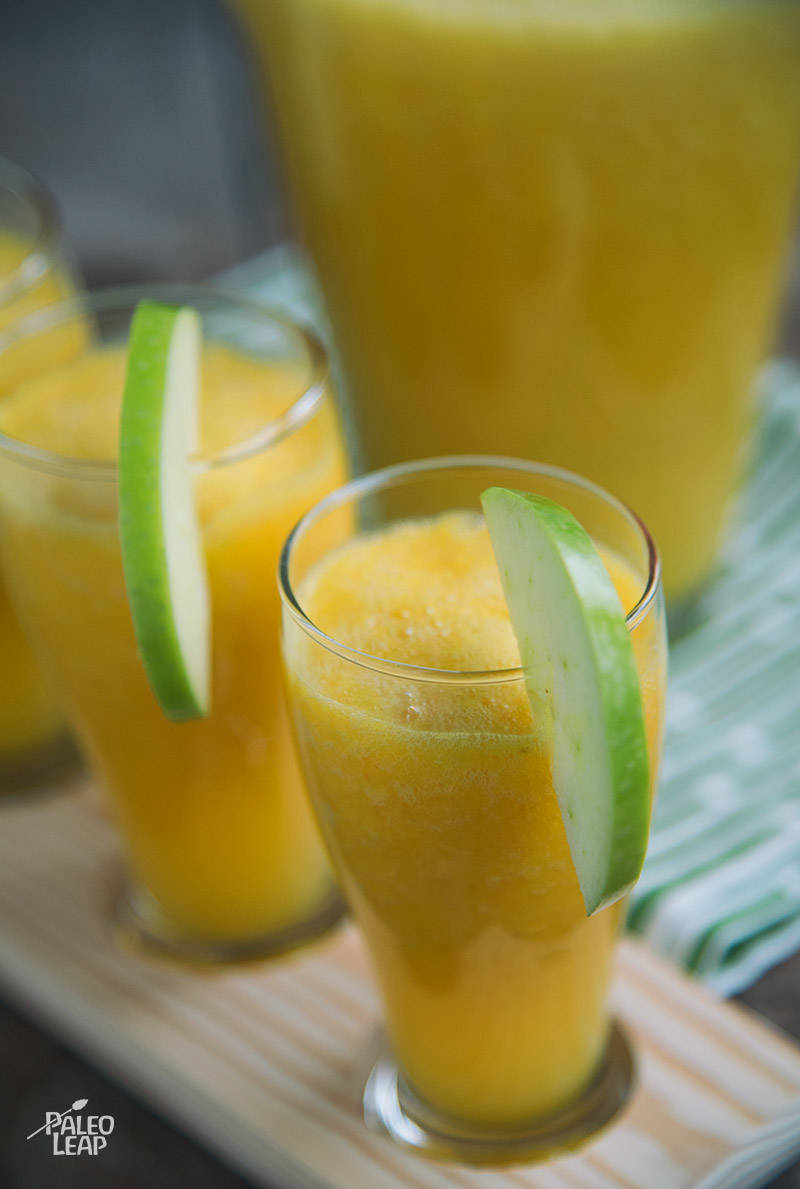 Ginger Turmeric Orange Juice Recipe