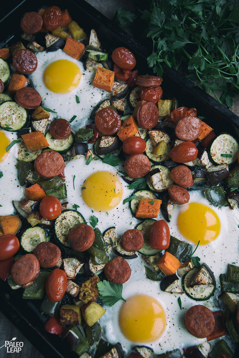 One-Pan Egg and Vegetable Breakfast