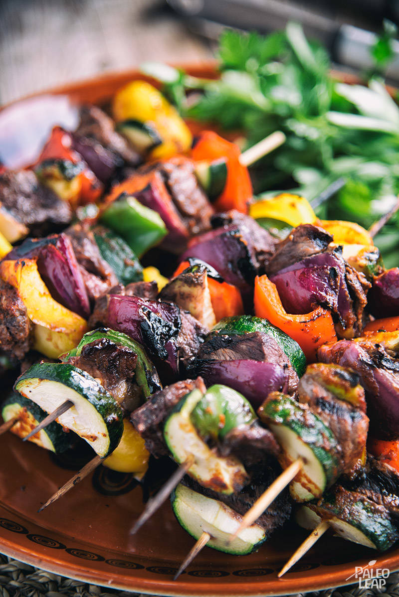 Simple Mexican-Style Beef Kabobs Recipe