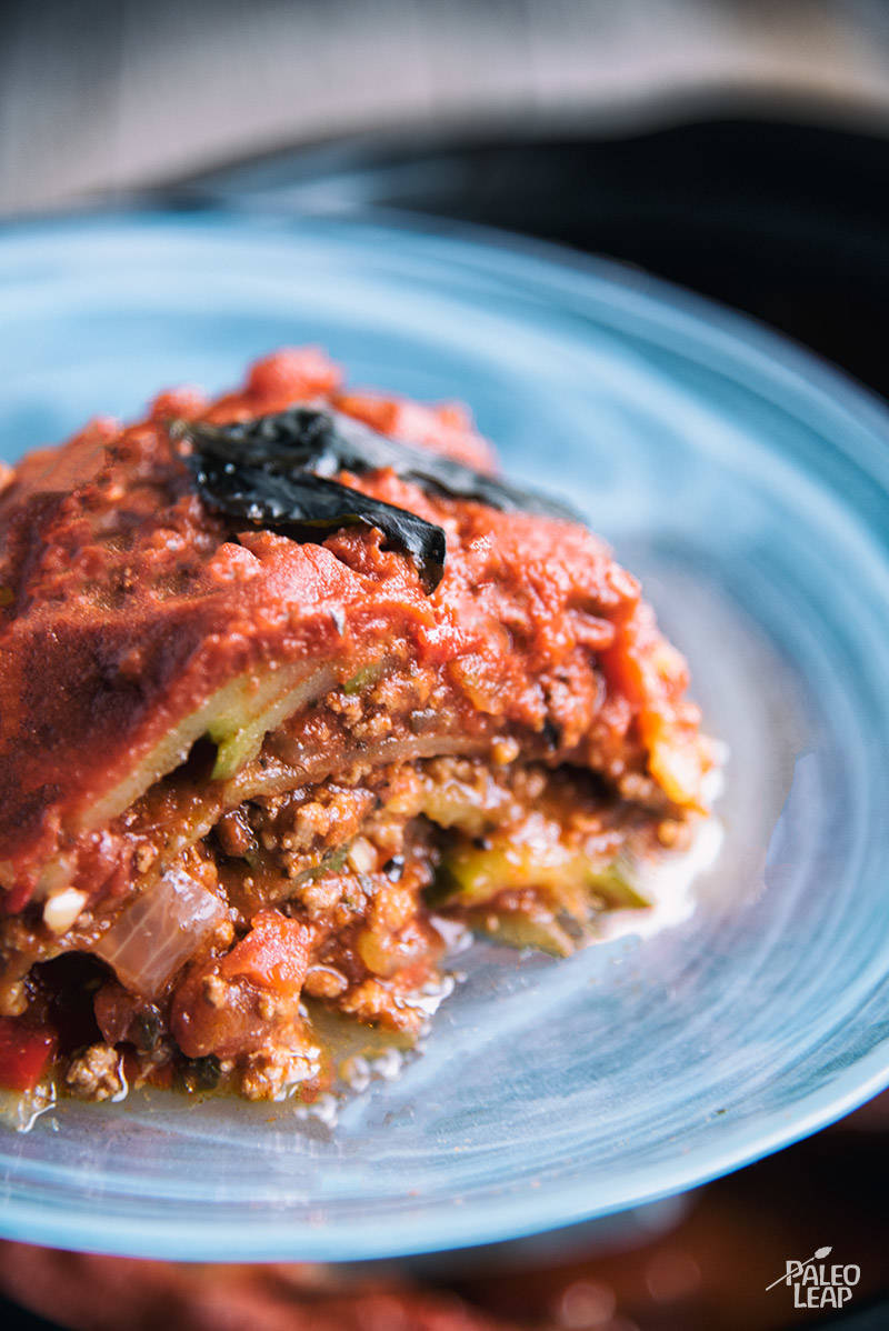 Slow Cooker Beef Zucchini Lasagna Recipe