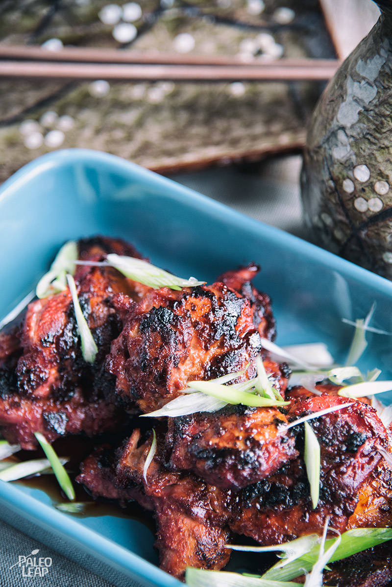 Grilled Char-Siu Chicken Recipe