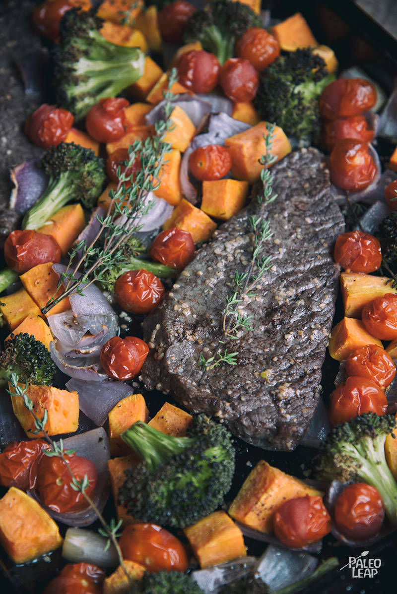 One-Dish Steak and Vegetables