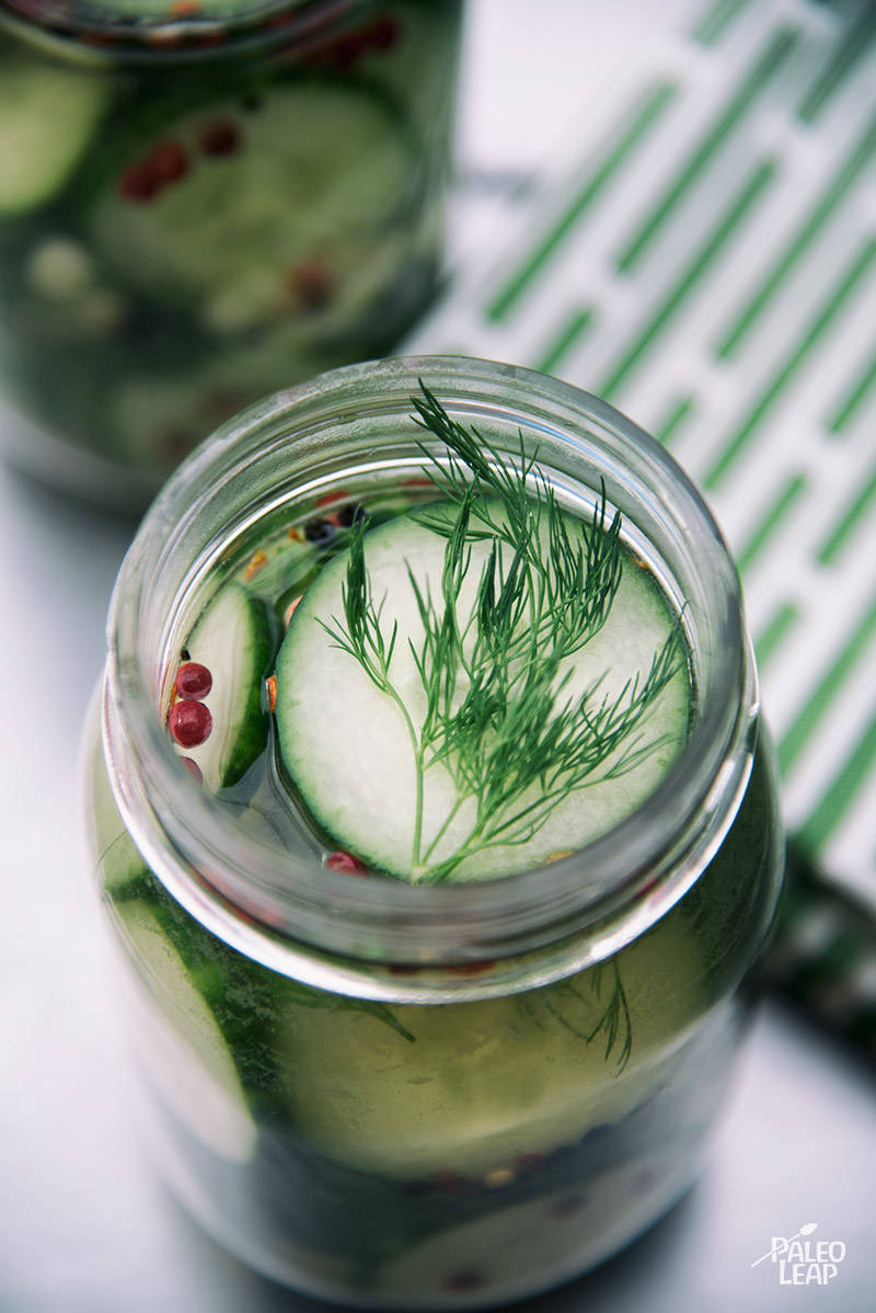Simple Dill-Garlic Pickles