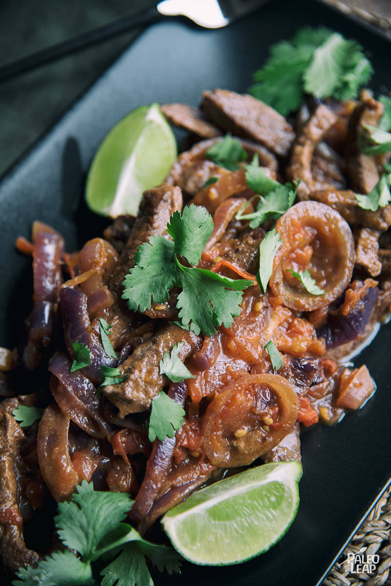 Colombian Steak with Onion-Tomato Sauce Recipe