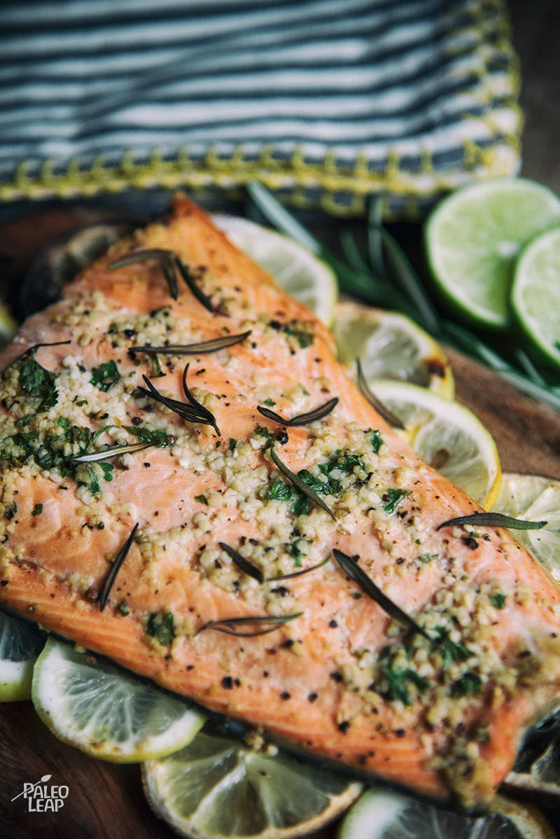 Grilled Garlic and Lime Salmon Fillets Recipe