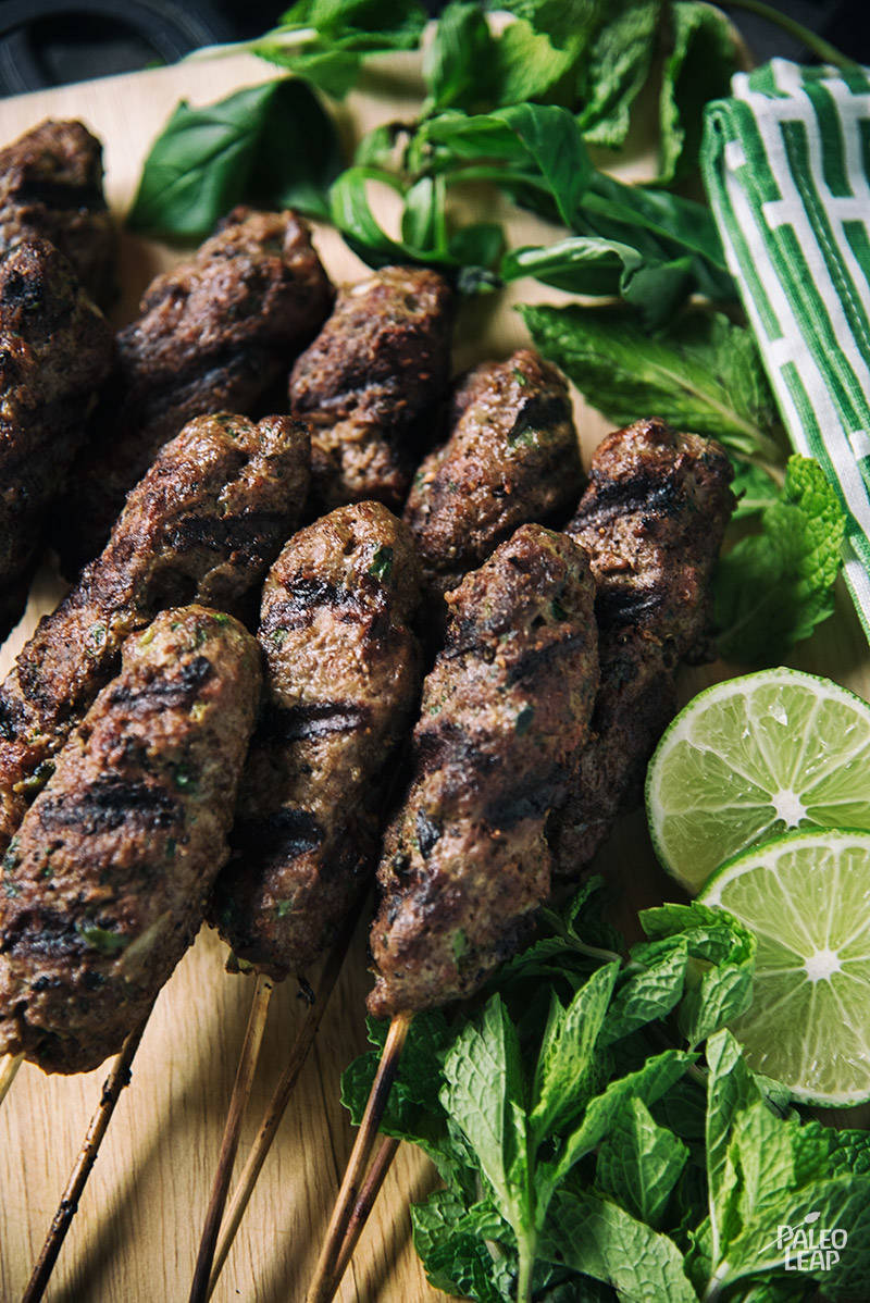 Moroccan-Style Beef Kebabs Recipe