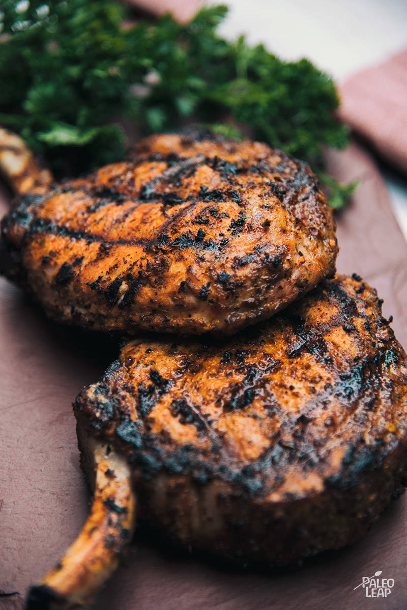 Grilled Cajun Pork Chops Recipe