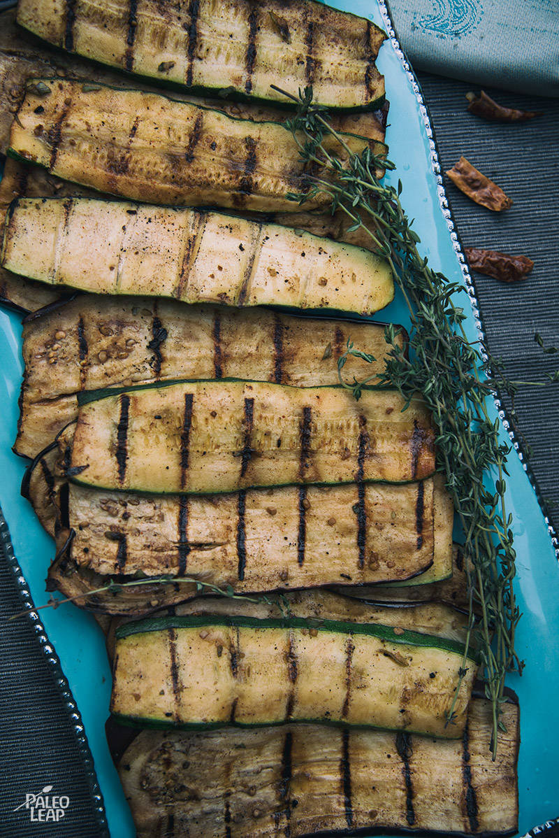 Jamaican Jerk Eggplant And Zucchini Recipe