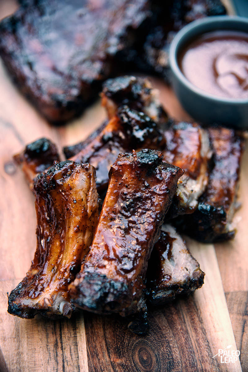 Barbecued St. Louis Style Ribs Recipe