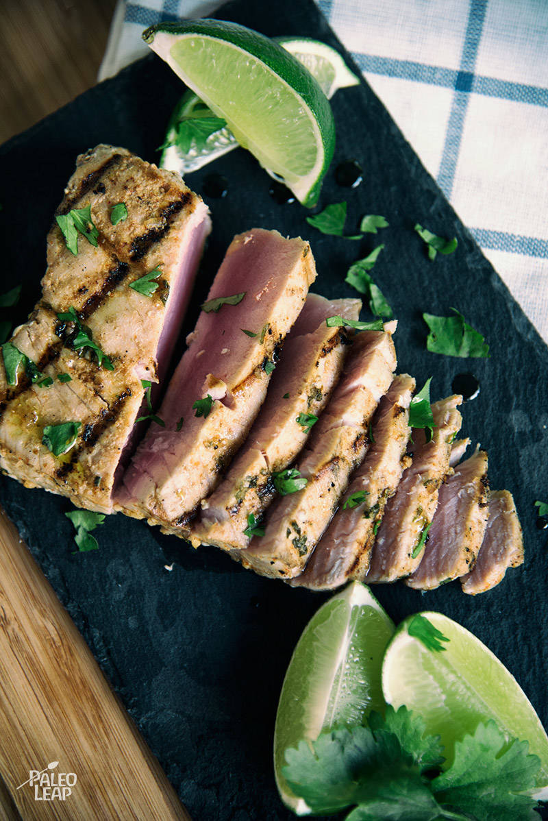 Spicy Cilantro-Lime Tuna