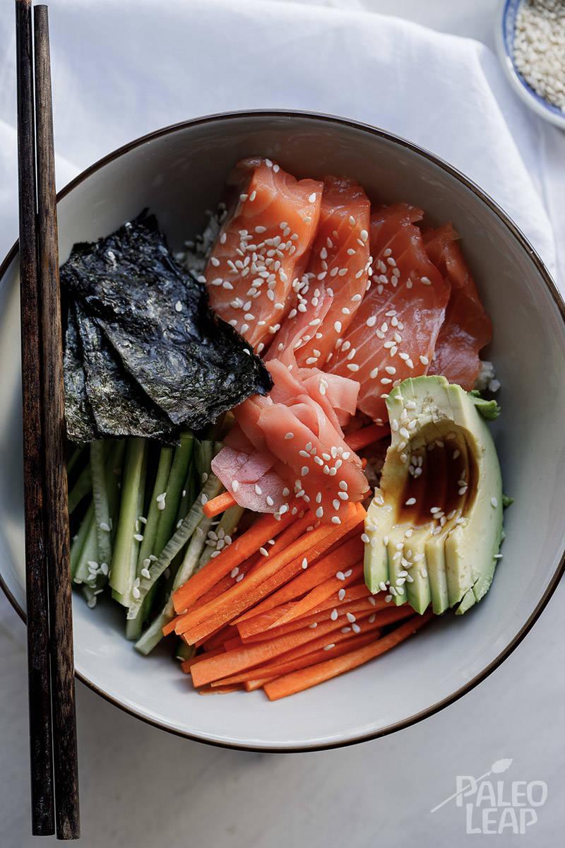 Paleo Sushi Bowl