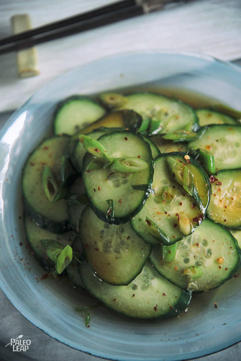 Simple Korean-Style Cucumbers