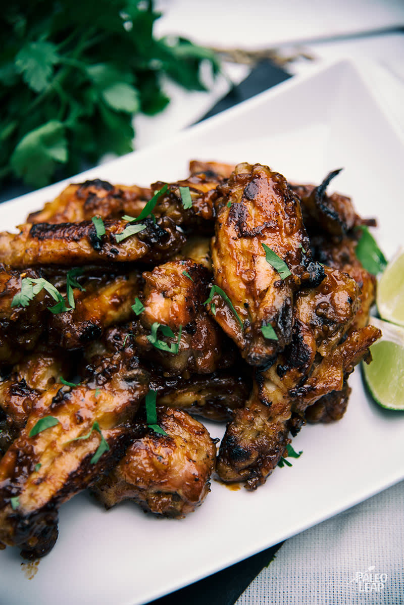 Teriyaki-Style Chicken Wings