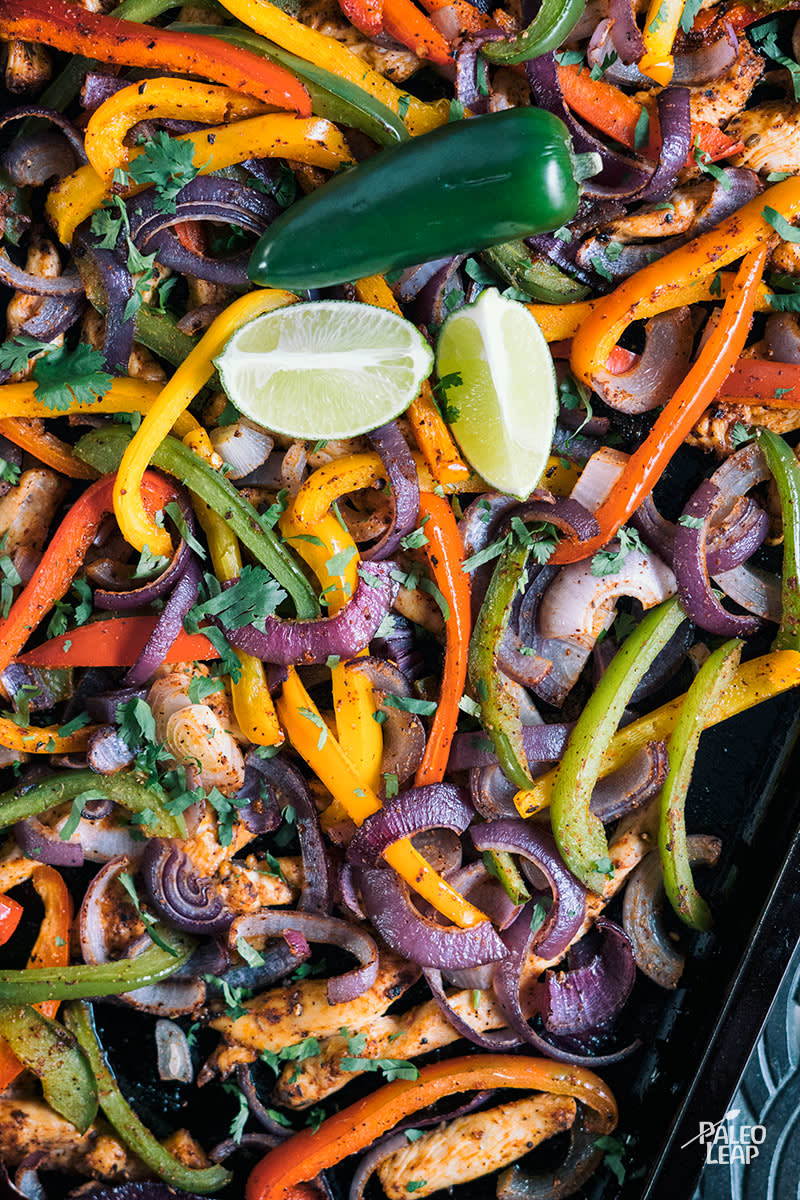 Sheet Pan Fajitas