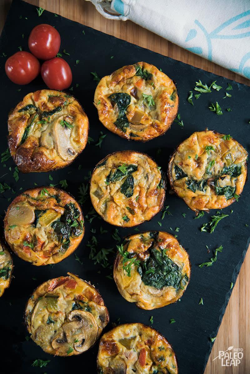Keto Egg Frittata Muffins