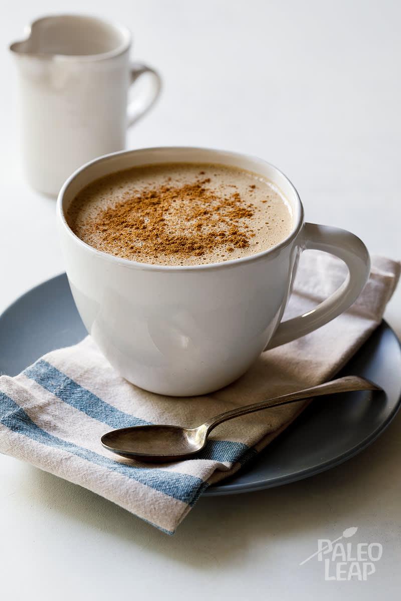 Pumpkin Spice Cashew Latte