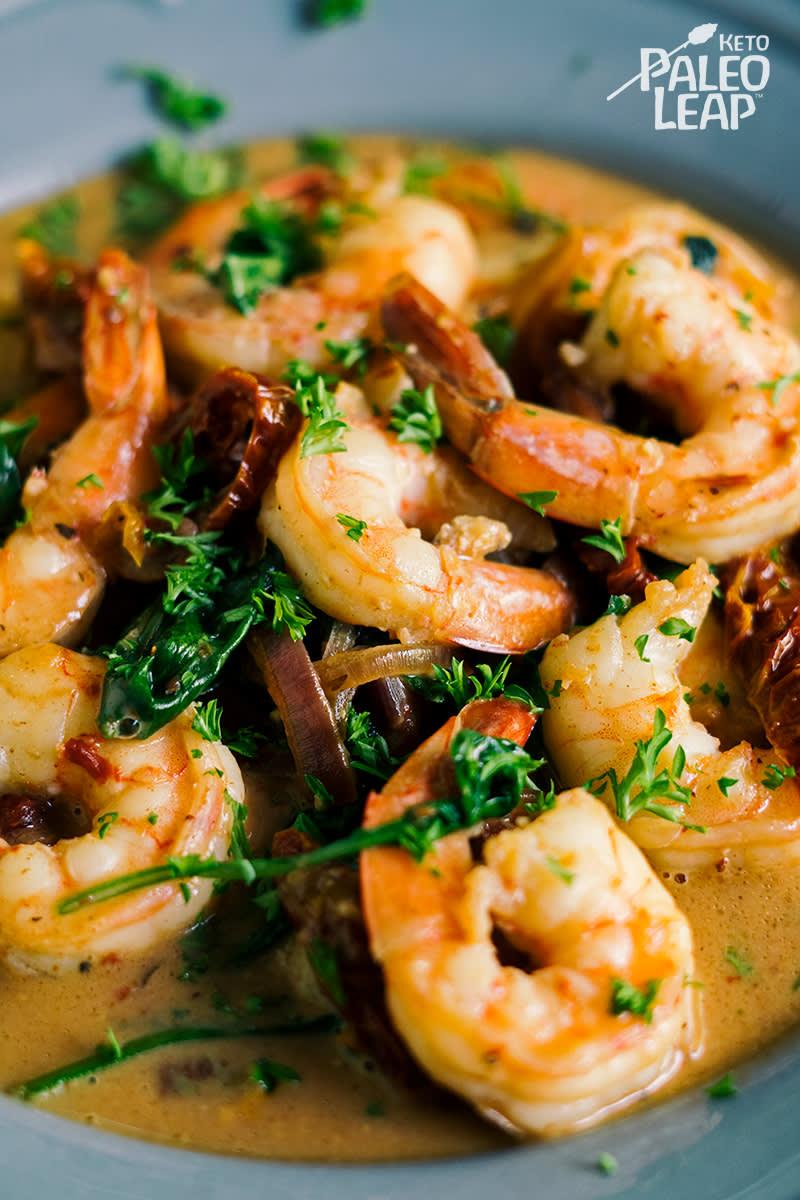 hCG Recipe | Grilled Shrimp Caesar Salad with Optional Grissini Croutons – AP