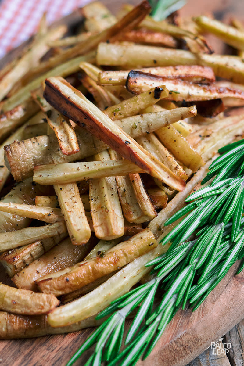 Herb Parsnip Fries