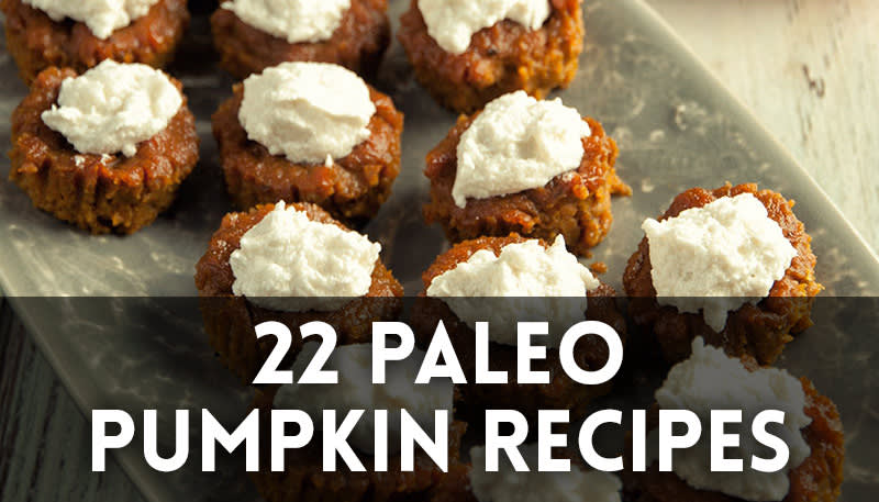 22 Paleo Pumpkin Recipes
